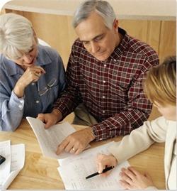 Consumer credit counselors assisting members